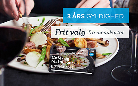 Café- & RestaurantGavekortet