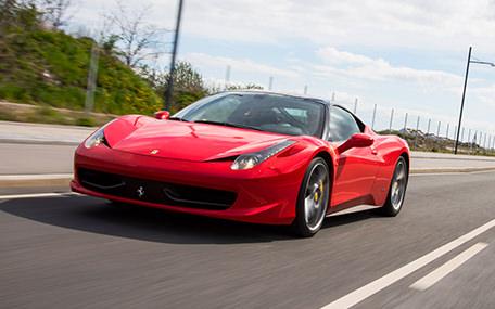 Sports Car Rental Gavekort