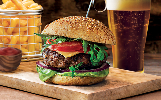 Gourmetburger & Øl for 2 Gavekort