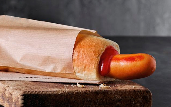 Stor Fransk Hotdog hos 7-eleven