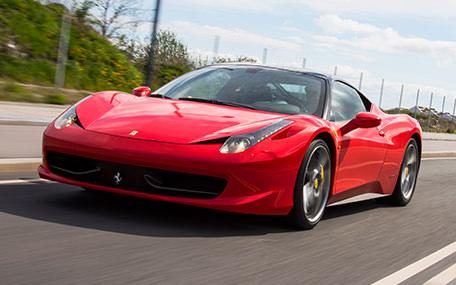 Kør Ferrari eller Lamborghini
