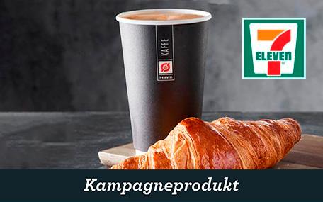 Kaffe & Croissant hos 7-Eleven