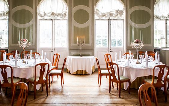 Danske Slotshoteller, Gourmetophold 1 nat Hovedbygning