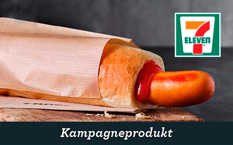 Stor Fransk Hotdog hos 7-eleven