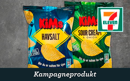 Kim's Chips hos 7-eleven