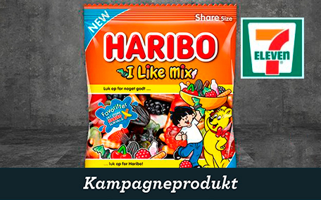 Haribo Pose hos 7-eleven