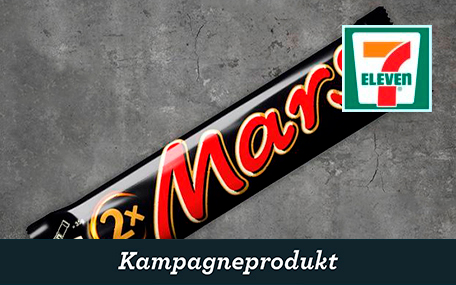 Mars King Size hos 7-eleven