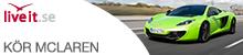 Kör McLaren Presentkort