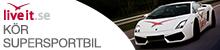 Kör Supersportsbil Presentkort