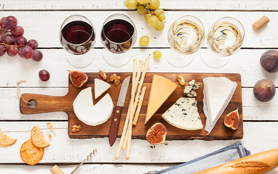 Ost- & vinprovning Presentkort