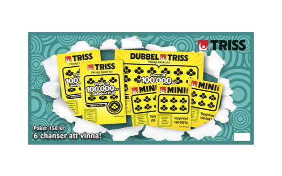 Svenska Spel Triss-paket