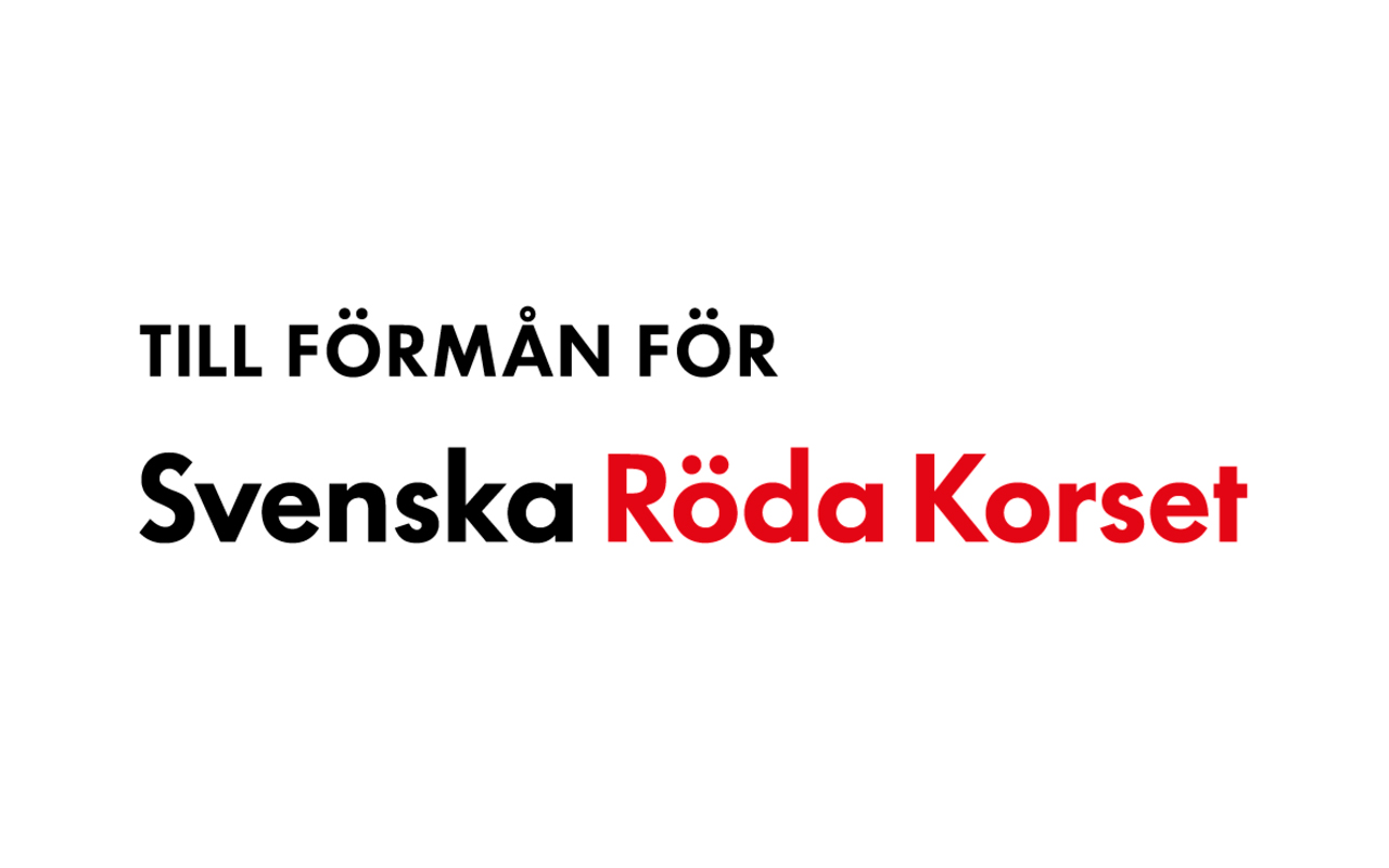 Röda Korset Donation