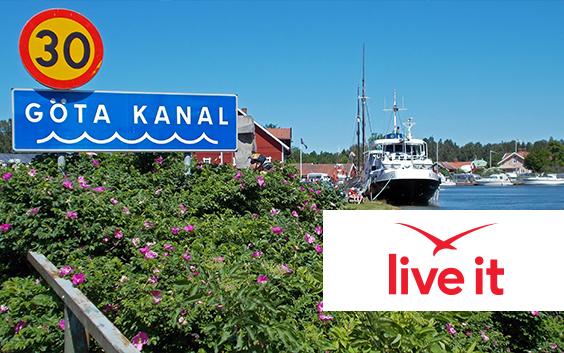 Kryssning Göta Kanal för två Presentkort