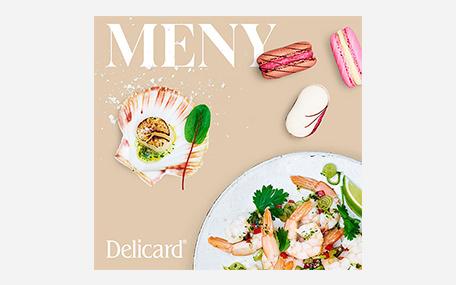 Delicard Meny Presentkort