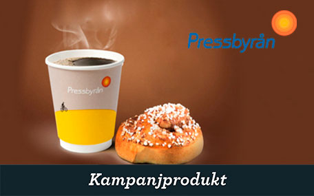Fika - Kaffe & Bulle på Pressbyrån