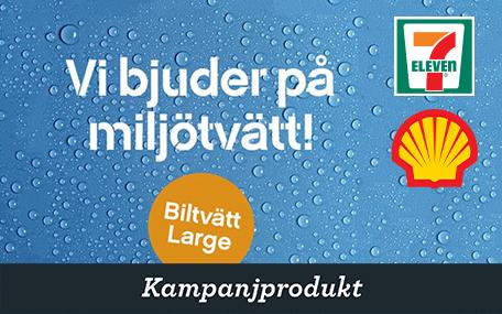 Biltvätt Large Miljötvätt på 7-Eleven och Shell