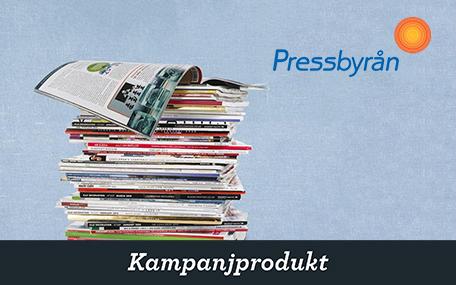 Valfritt Magasin på Pressbyrån