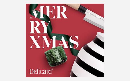 Delicard Merry Xmas Presentkort