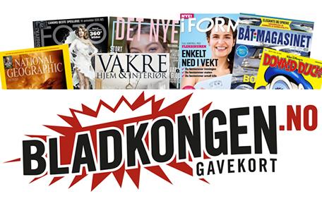 BLADKONGEN.no Gavekort