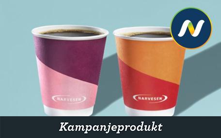 Kaffe hos Narvesen Gavekort