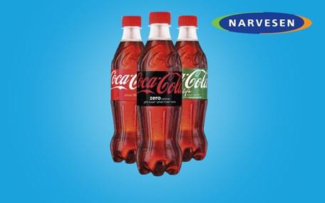 Coca-Cola hos Narvesen Gavekort