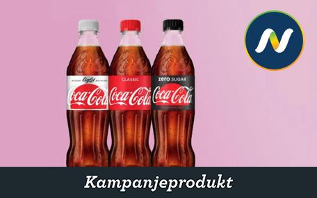 Coca-Cola (0,5 l.) hos Narvesen