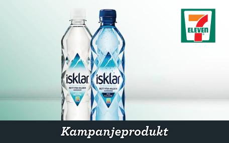 Isklar vand (0,5 l.) hos 7-Eleven