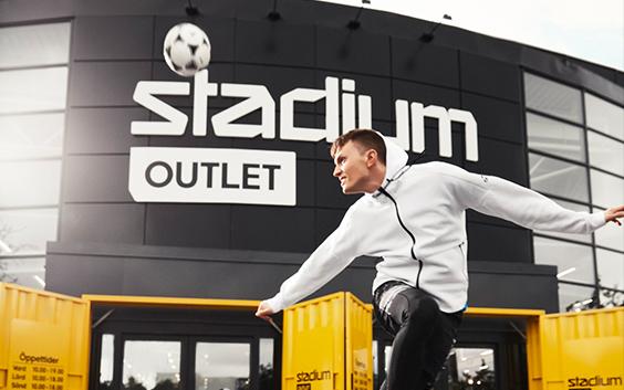 Stadium Outlet Botkyrka - Rabattkoder, katalog og rea