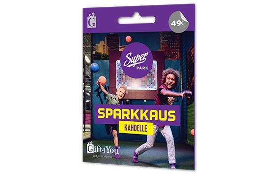 Gift4You SuperPark - sparkkaus kahdelle