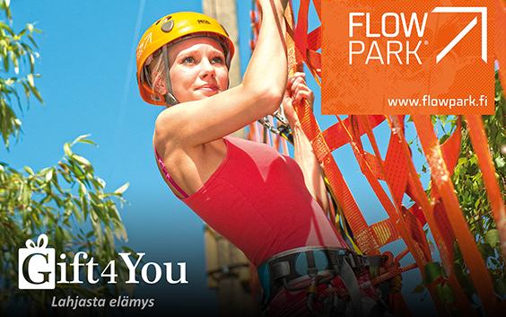 Gift4You Flowpark - flowparkkaus kahdelle